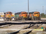 BNSF C44-9W 5339, GP50 3126, GP38-2 2332